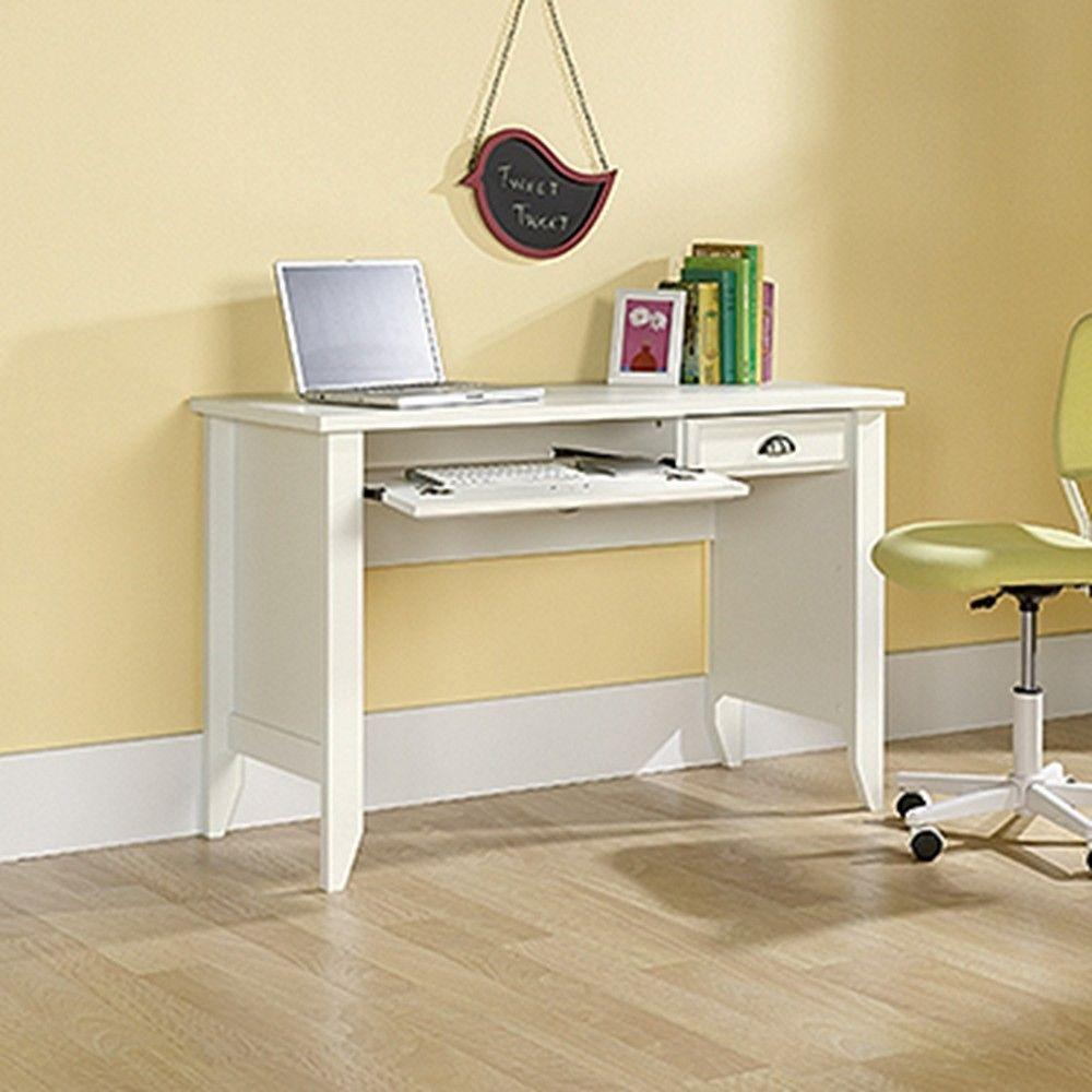 Upc 042666107846 Sauder Desks Shoal Creek Collection White