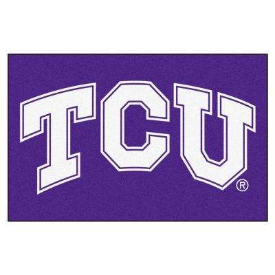 NCAA Texas Christian University 2 ft. x 3 ft. Area Rug