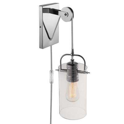 Nordhaven 1-Light Chrome Wall Sconce