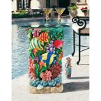 The Great Barrier Reef 21 in. H Sculptural Polyresin Outdoor Side Table