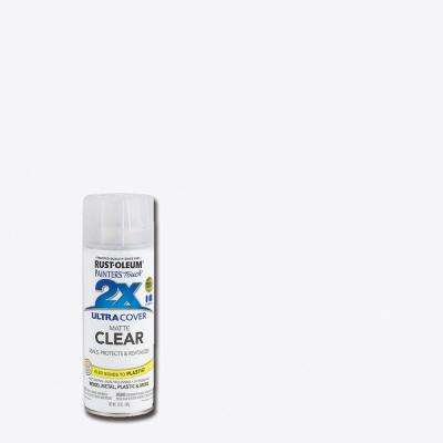 12 oz. Flat Matte Clear General Purpose Spray Paint