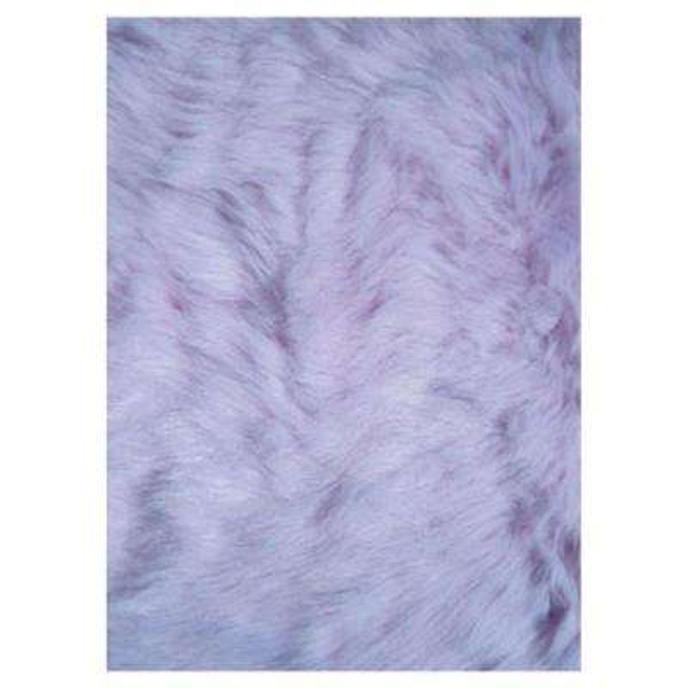 Flokati Lavender 3 ft. x 4 ft. Area Rug