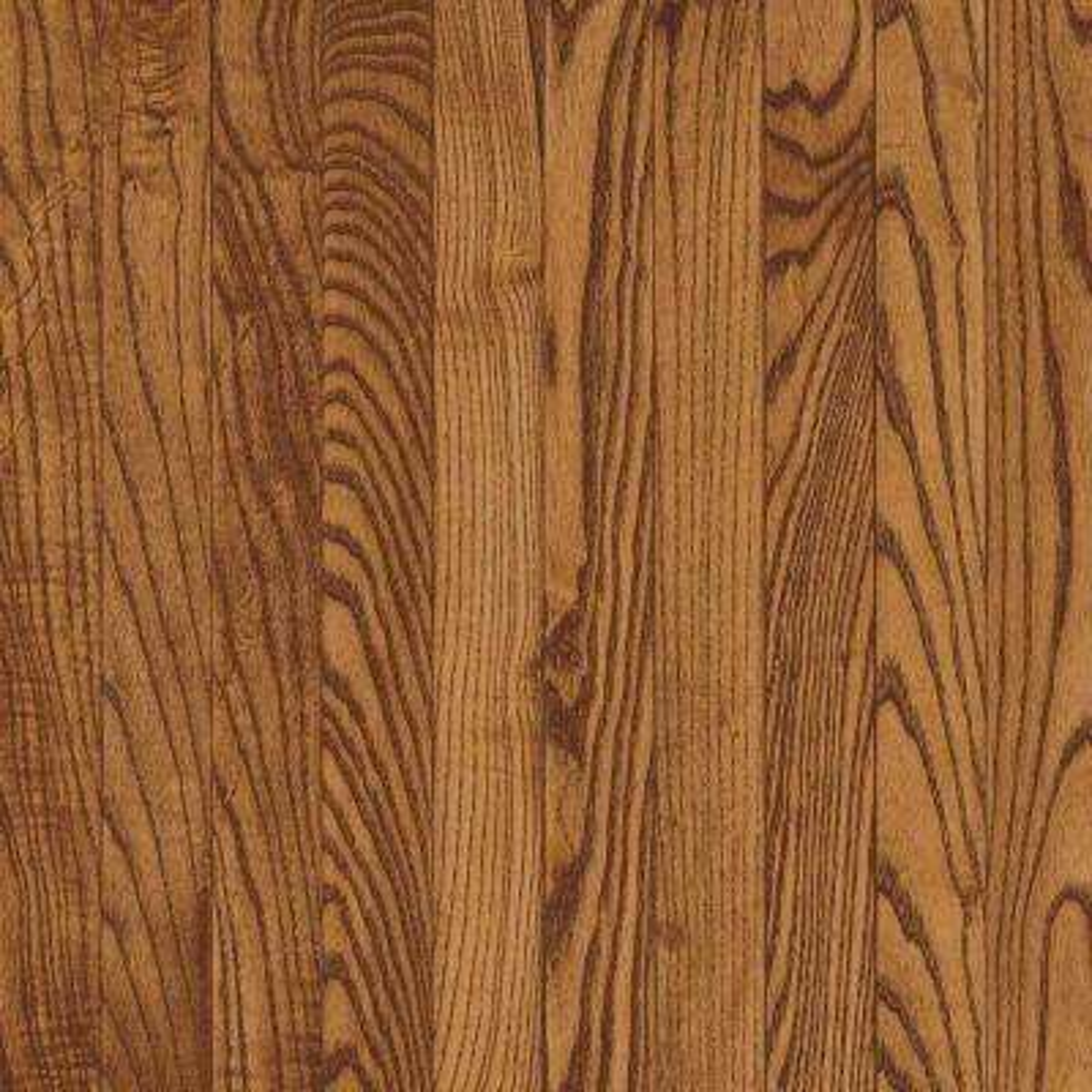 Take Home Sample - Gunstock Oak Solid Hardwood Flooring - 5 in. x 7 in.