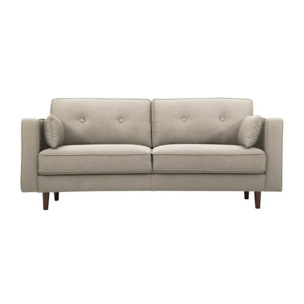 Lifestyle Solutions Tucson Taupe Mid Century Modern