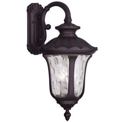 Providence 3-Light Outdoor Bronze Incandescent Wall Lantern Sconce