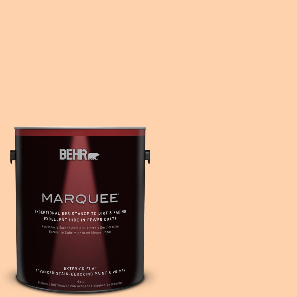 BEHR MARQUEE 1-gal. #270A-3 Luminary Flat Exterior Paint