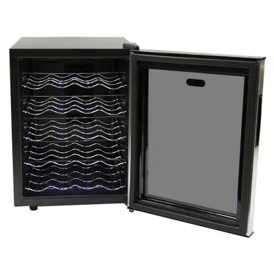 16 in. 20-Bottle Thermoelectric Wine Cooler with Mirror Door