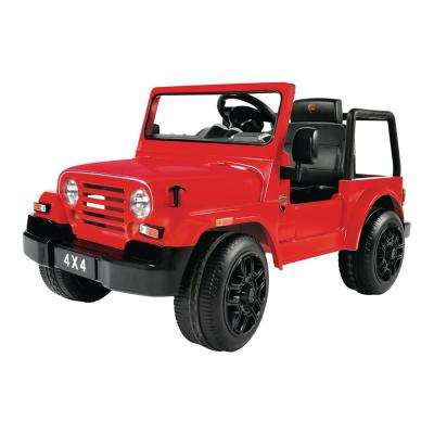4x4 SUV 6-Volt Battery Ride-On Vehicle