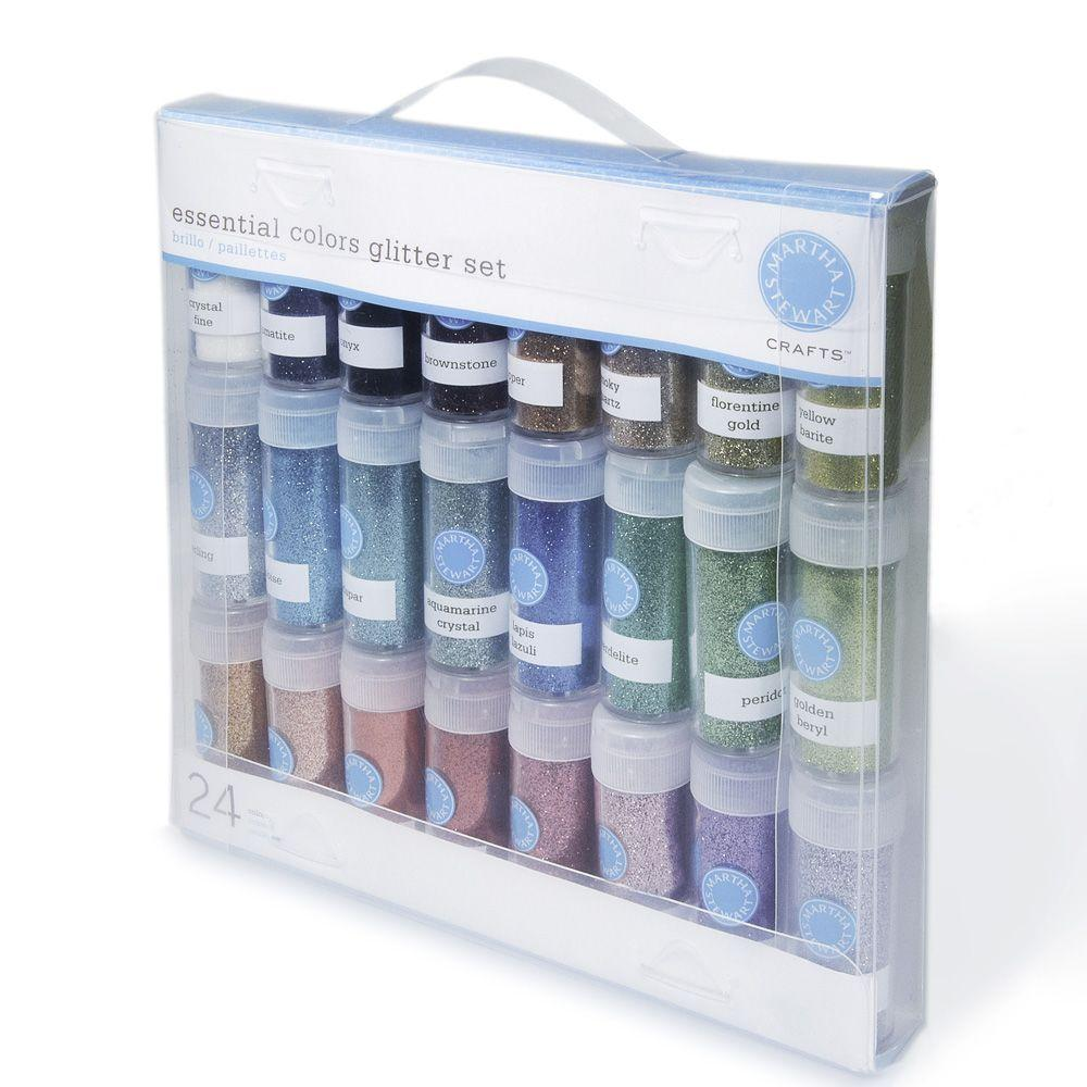 Home Decorators Collection Crafts Glitter Multi-Pack