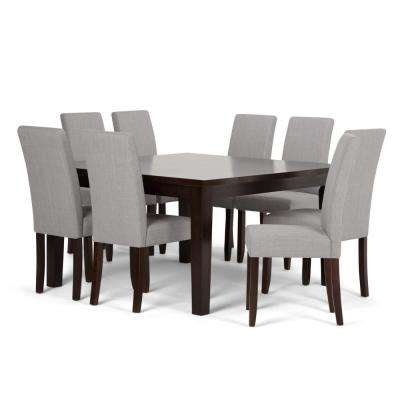 Acadian 9 Piece Dove Grey Dining Set