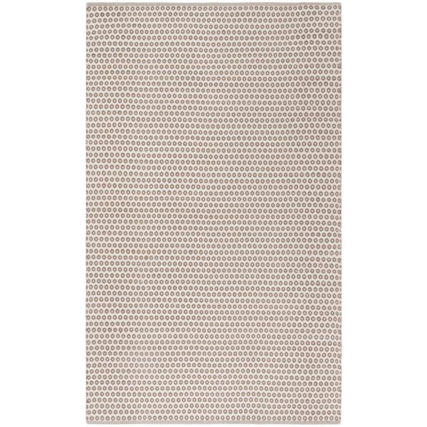 Montauk Taupe/Ivory 5 ft. x 8 ft. Area Rug