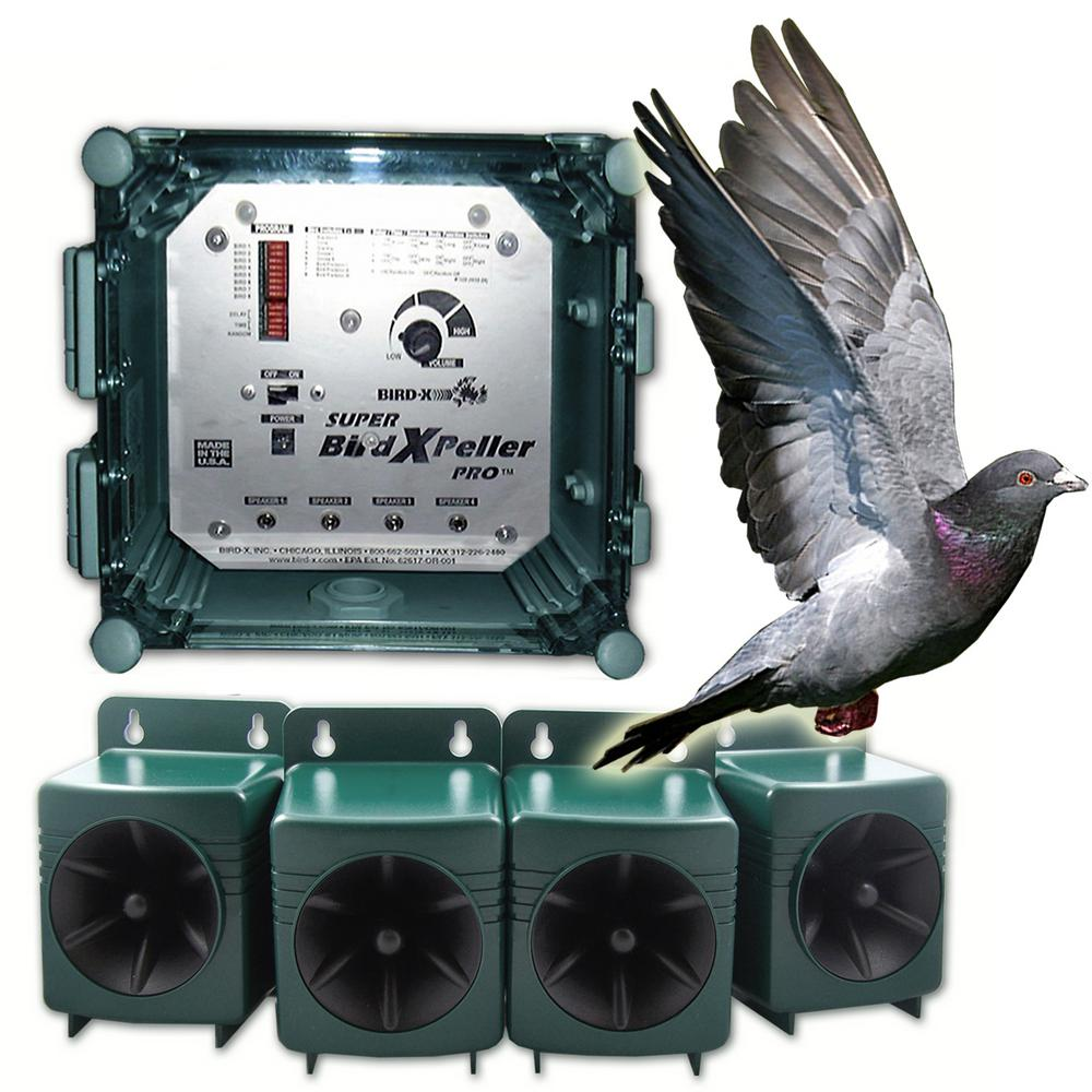 Super Bird X Peller PRO Electronic Bird Repeller 6 Acres Repel