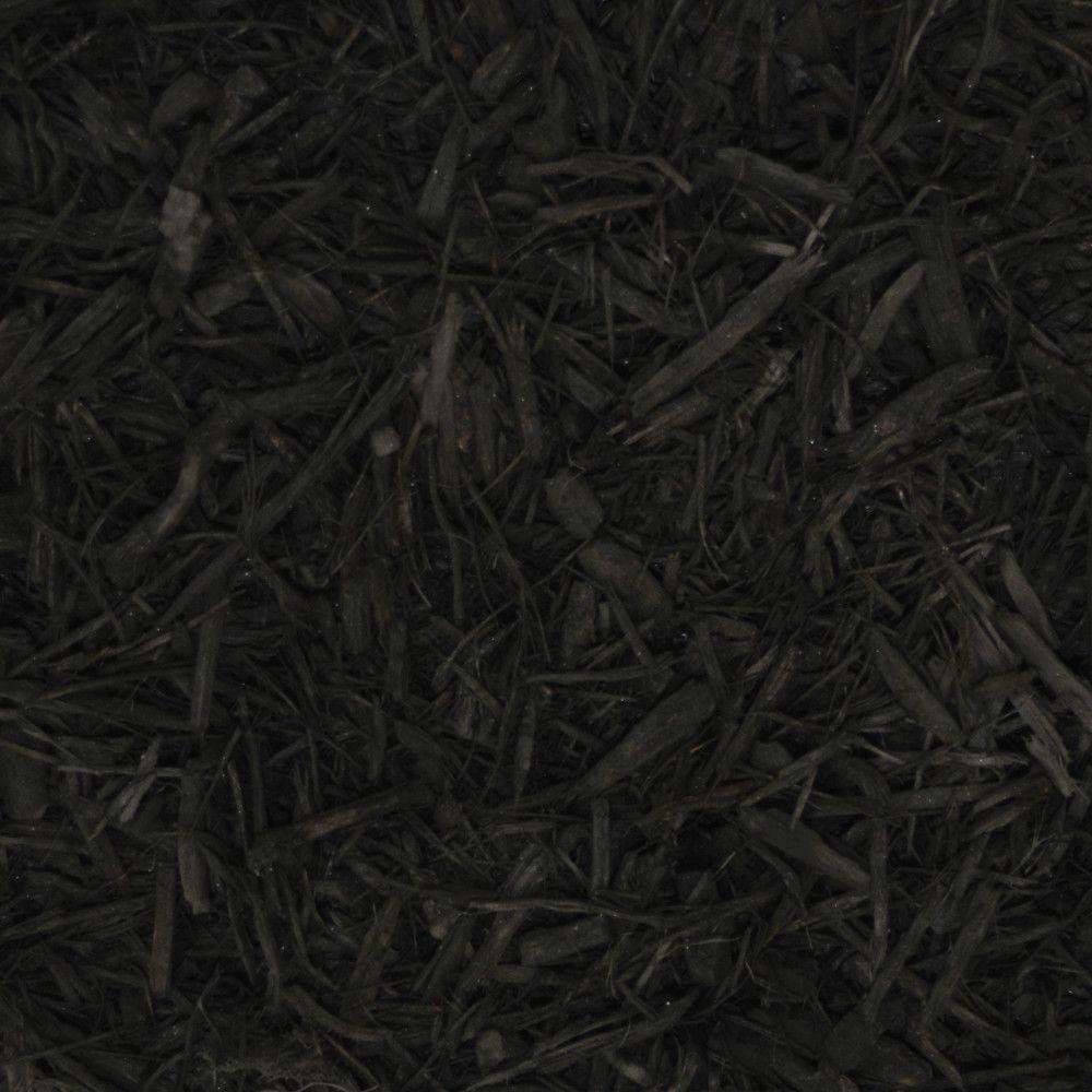 6 cu. yd. Black Landscape Bulk Mulch-BKDMB6 - The Home Depot