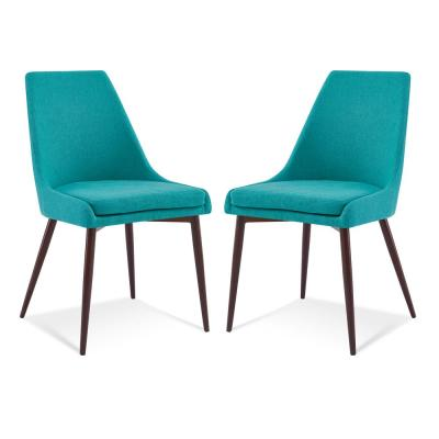 Ethen Dining Chair in Teal (Set of 2)