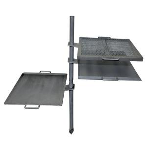 Camp Chef Mountain Man Steel Over Fire Grill and Griddle by Camp Chef