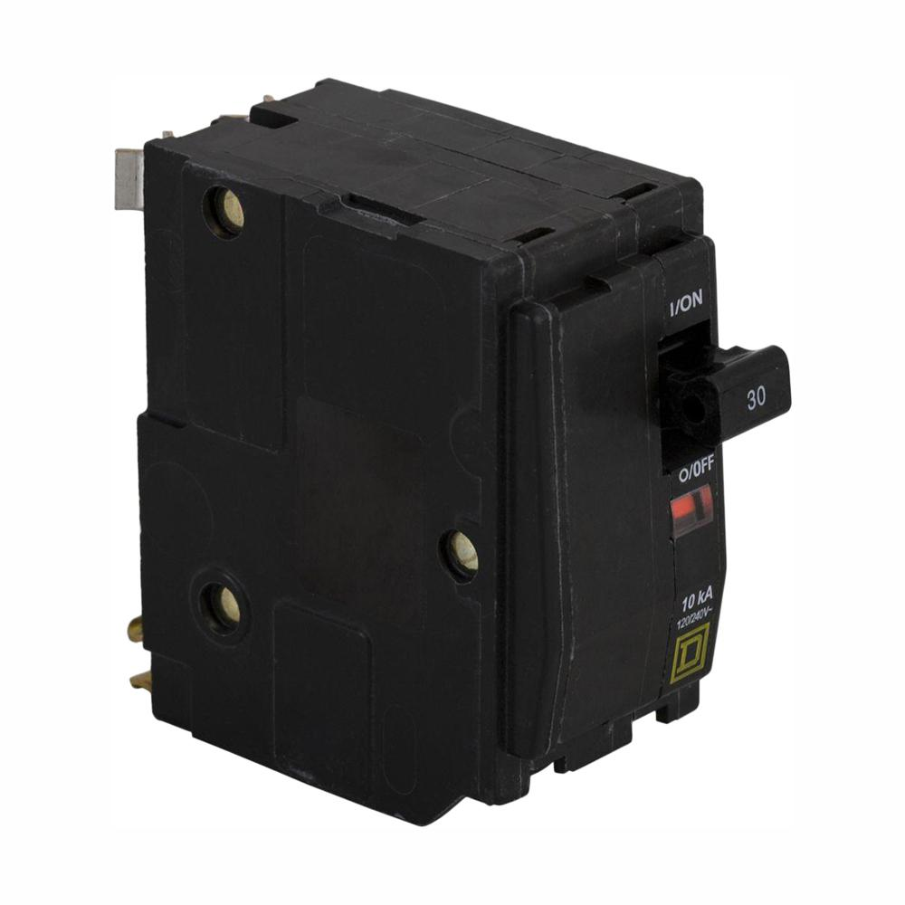 Square D QO 30 Amp 2-Pole Circuit Breaker (3-Pack) on