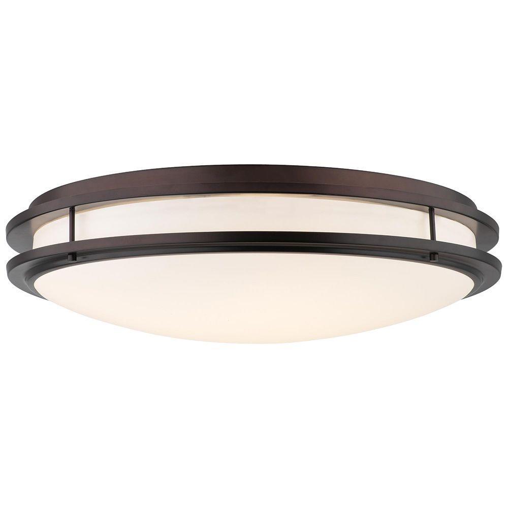 philips cambridge 36-watt 2-light merlot bronze cflni 4-pin 2g11