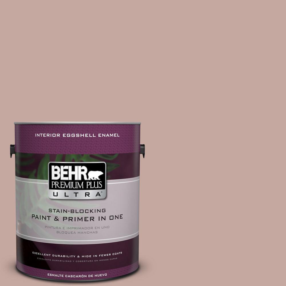 BEHR Premium Plus Ultra Home Decorators Collection 1-gal. #HDC-NT-06 Patchwork Pink Eggshell Enamel Interior Paint