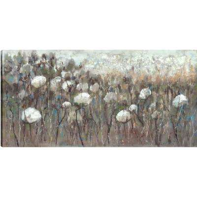 White Flowers, Floral Art, Fresh Printed Canvas Wall Art Dcor, Gallery Wrapped Wall Art