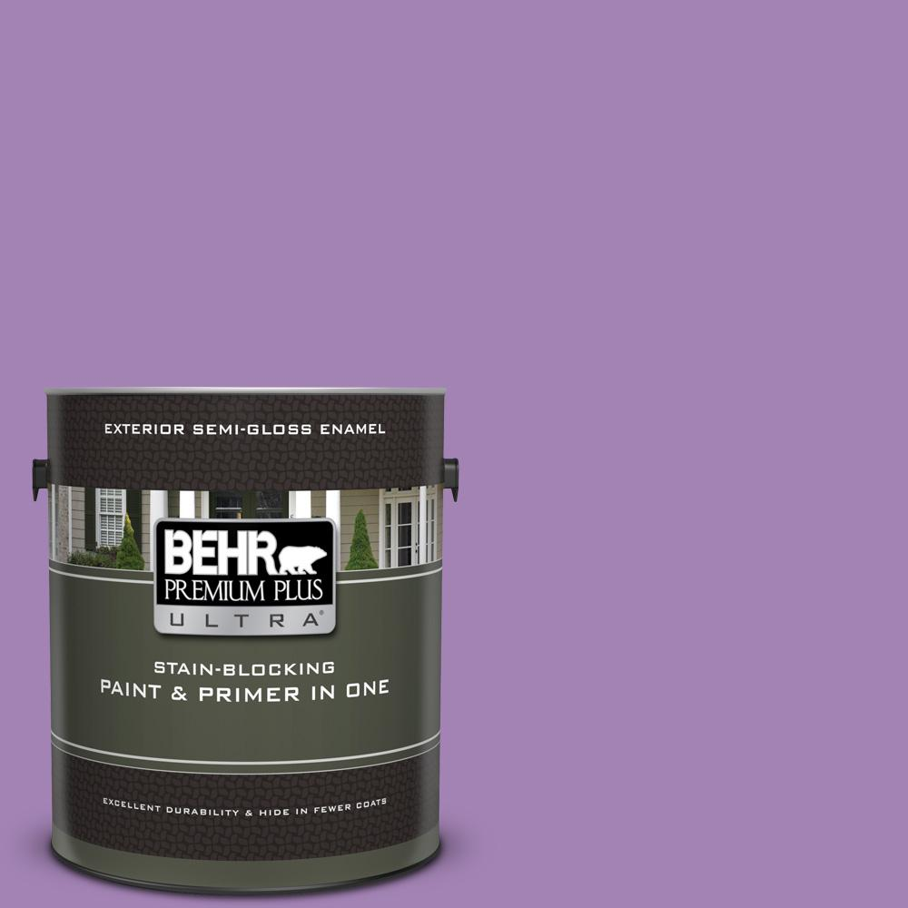 660b 6 Daylight Lilac Semi Gloss Enamel Exterior Paint And Primer In One