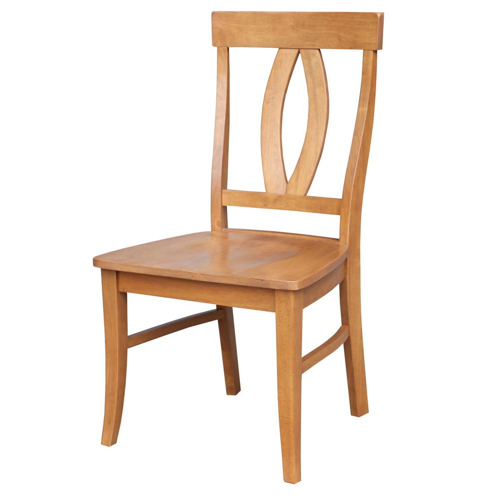 International Concepts Verona Aged Cherry Wood Dining Chair (Set Of 2)
