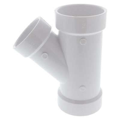 2 in. x 2 in. x 1-1/2 in. PVC DWV All Hub Wye