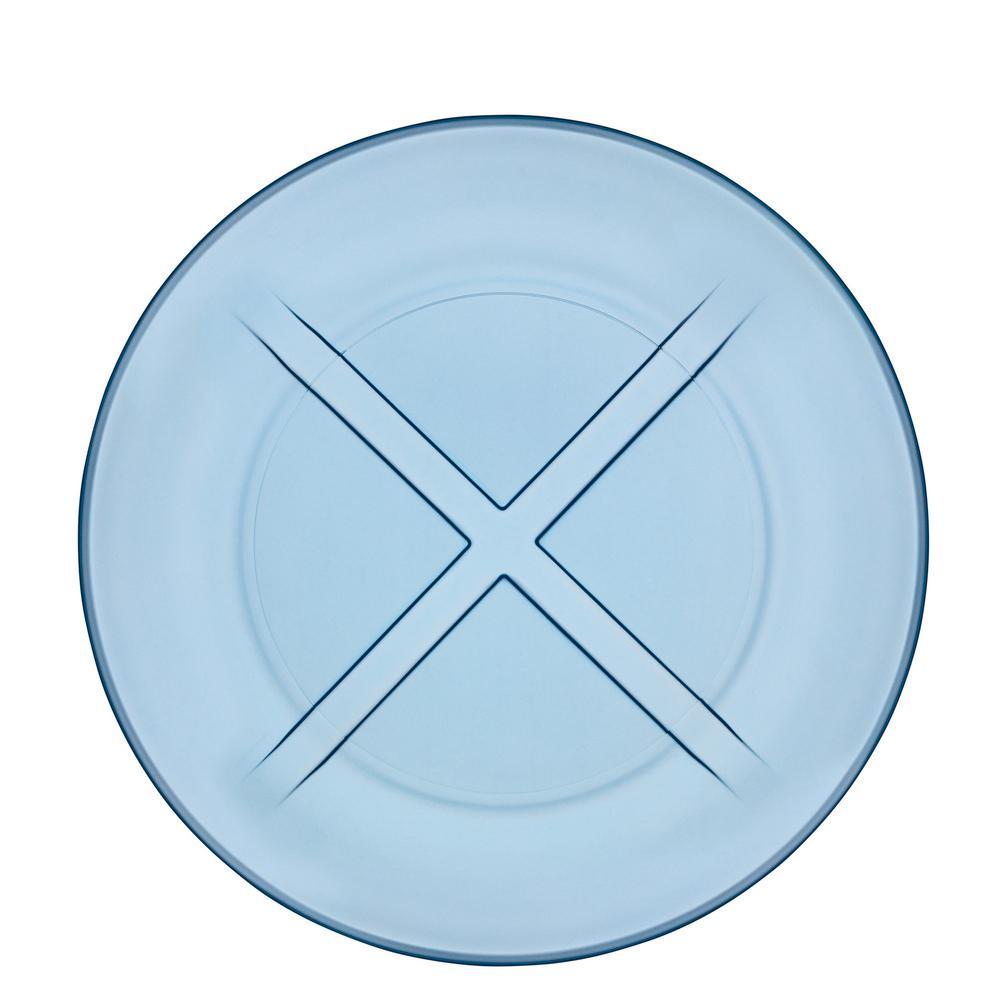 Bruk Water Blue Salad Plate (Set of 4)