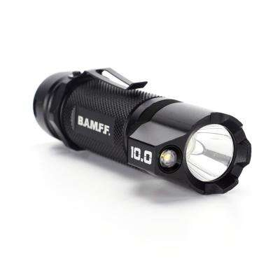 Striker - BAMFF 10.0 Lumens to 1000 Lumens Rechargeable Dual LED Tactical Flashlight - CREE LEDs - Gun Mount Kit