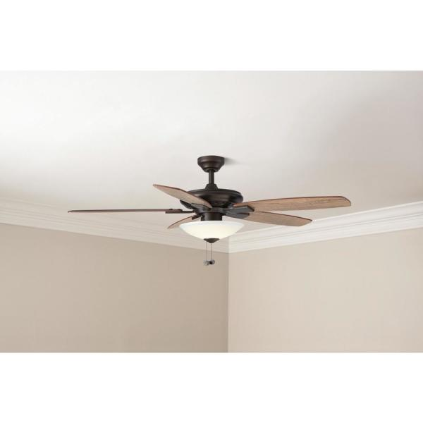 Lamps Lighting Ceiling Fans Menage 52 In Led Low Profile Oil Rubbed Bronze Ceiling Fan Replacement Parts Ceiling Fans