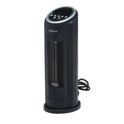 17 in. All Season 1,000-Watt Medium Room Infrared Heater and Cooling Tower Fan with Oscillation and Remote