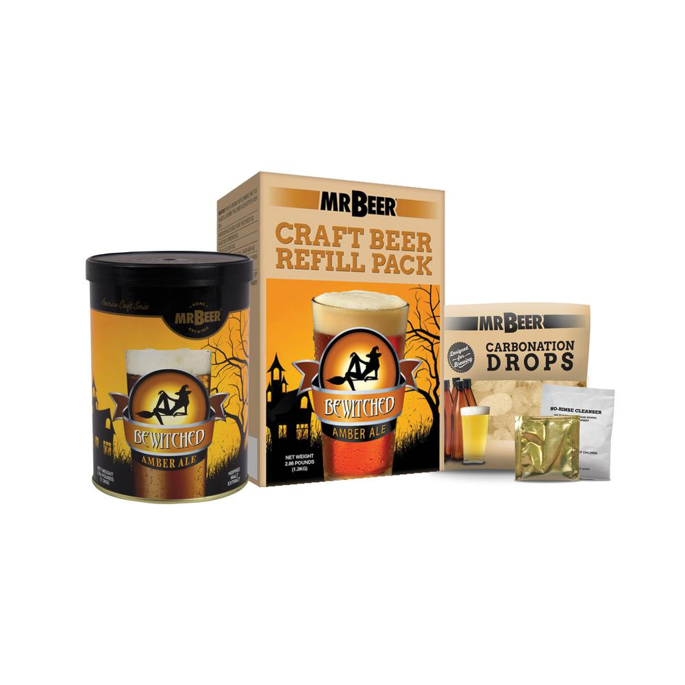 Bewitched Amber Ale Refill Beer Brewing Kit