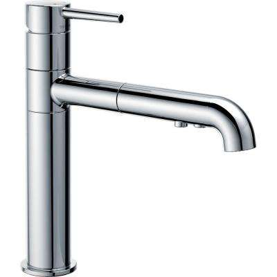 Trinsic Single-Handle Pull-Out Sprayer Kitchen Faucet In Chrome