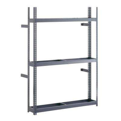 60 in. W x 84 in. H x 12 in. D Steel Commercial Tire Rack Shelving Unit