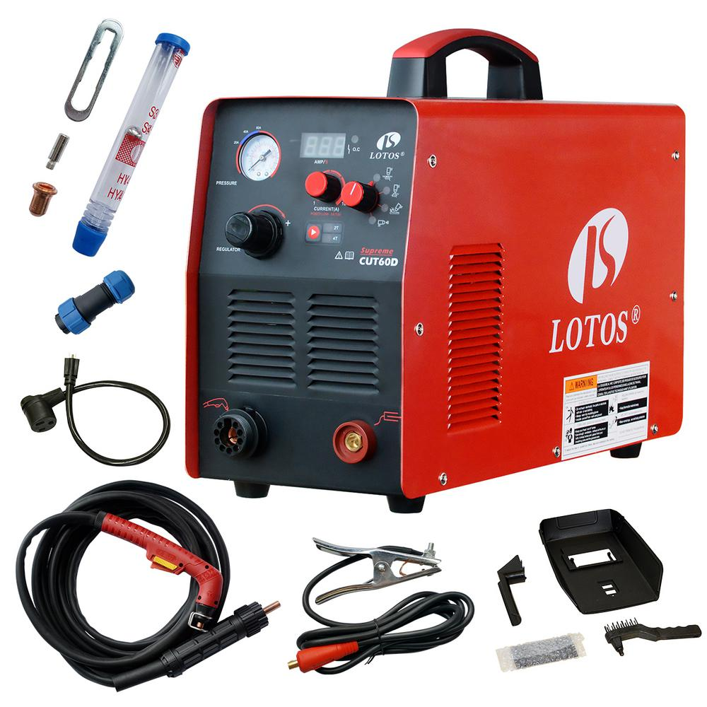 Lotos Supreme Cut60d 60 Amp Digital Cnc Pilot Arc Plasma