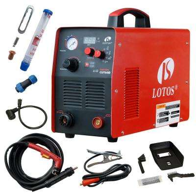 Supreme CUT60D 60 Amp Digital CNC Pilot Arc Plasma Cutting Machine with Plasma Gouging, Non-HF CNC Plasma Cutter