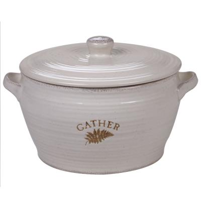 Gather Retreat Multi-Colored 4 qt. Covered Bowl