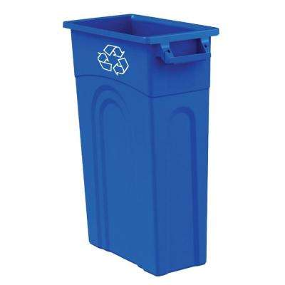 23 gal. Blue Recycling Highboy Waste Container
