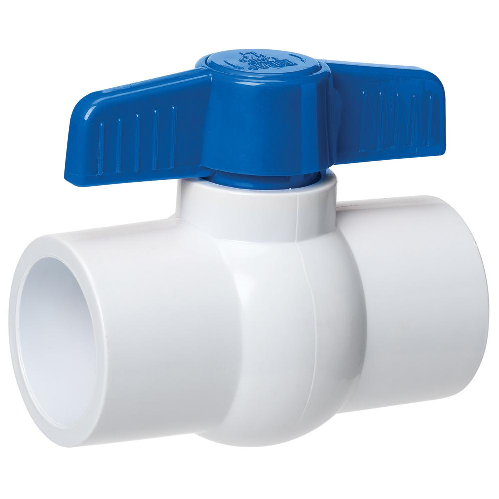 """PAIR OF PLASTIC SOLVENT//WATER TAPS with TAPERED SELF-SEALING 3//4/"""" THREAD"""