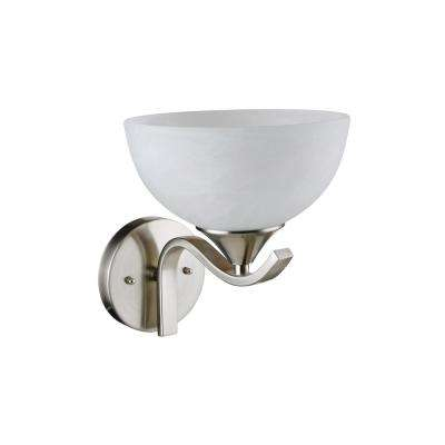 Bisbee 1-Light Satin Nickel Swing Arm Light
