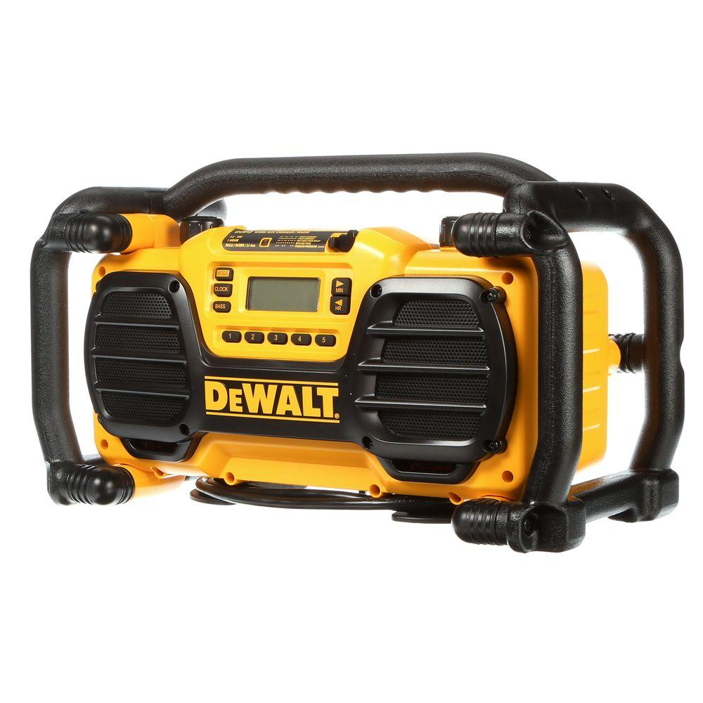 DeWALT 7.2-Volt to 18-Volt Heavy-Duty Worksite Charger Radio