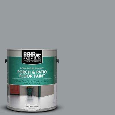 1 gal. #N500-4 Pencil Sketch Low-Lustre Porch and Patio Floor Paint