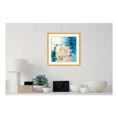 21.00 in. W x 21.00 in. H First Blush by Elisa Sheehan Printed Framed Wall Art