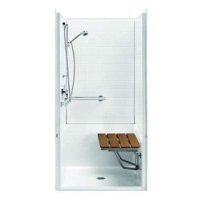 Freedomline 39 8 In X 1 78 9 4 Piece Shower