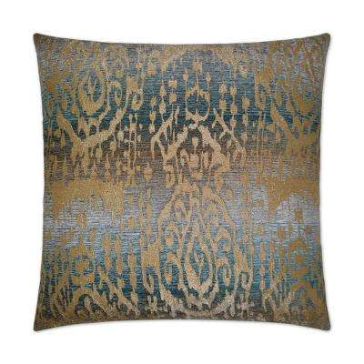 Mahoi Feather Down 24 in. x 24 in. Standard Decorative Throw Pillow