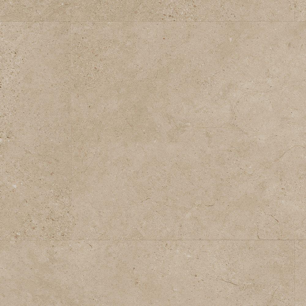Home Legend Limestone Dark 4mm T x 11-23/32in. W x 23-23/32in. L Click Lock Luxury Vinyl Plank (15.44 sq.ft./case)-DISCONTINUED