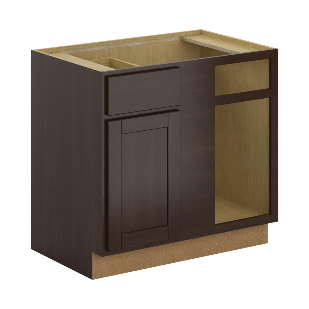 Hampton Bay Princeton Shaker Assembled 36x34 5x24 In