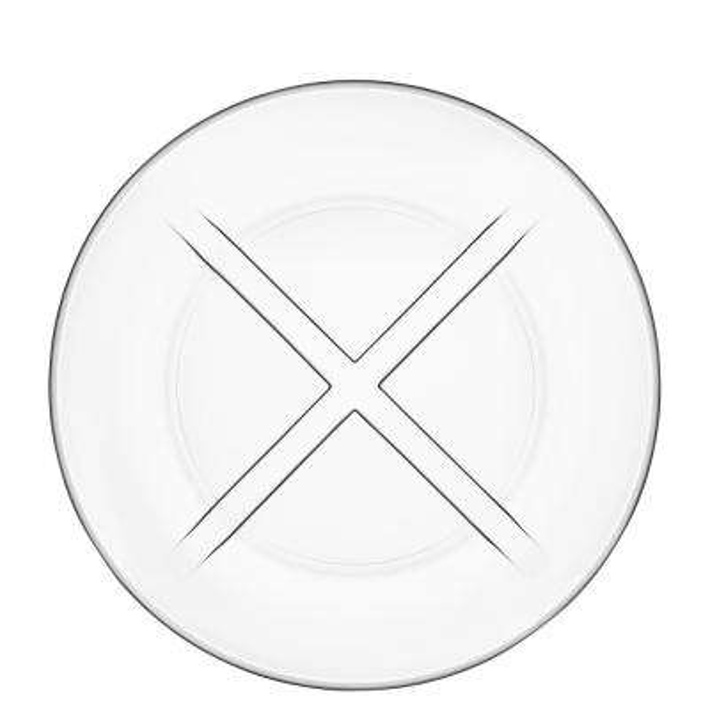 Bruk Clear Salad Plate (Set of 4)