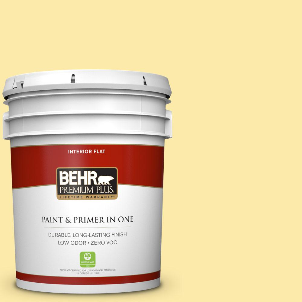 BEHR Premium Plus 5-gal. #P300-3 Rite of Spring Flat Interior Paint