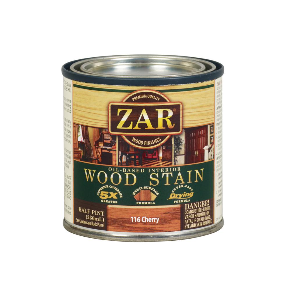 116 8 oz. Cherry Wood Interior Stain (2-Pack)