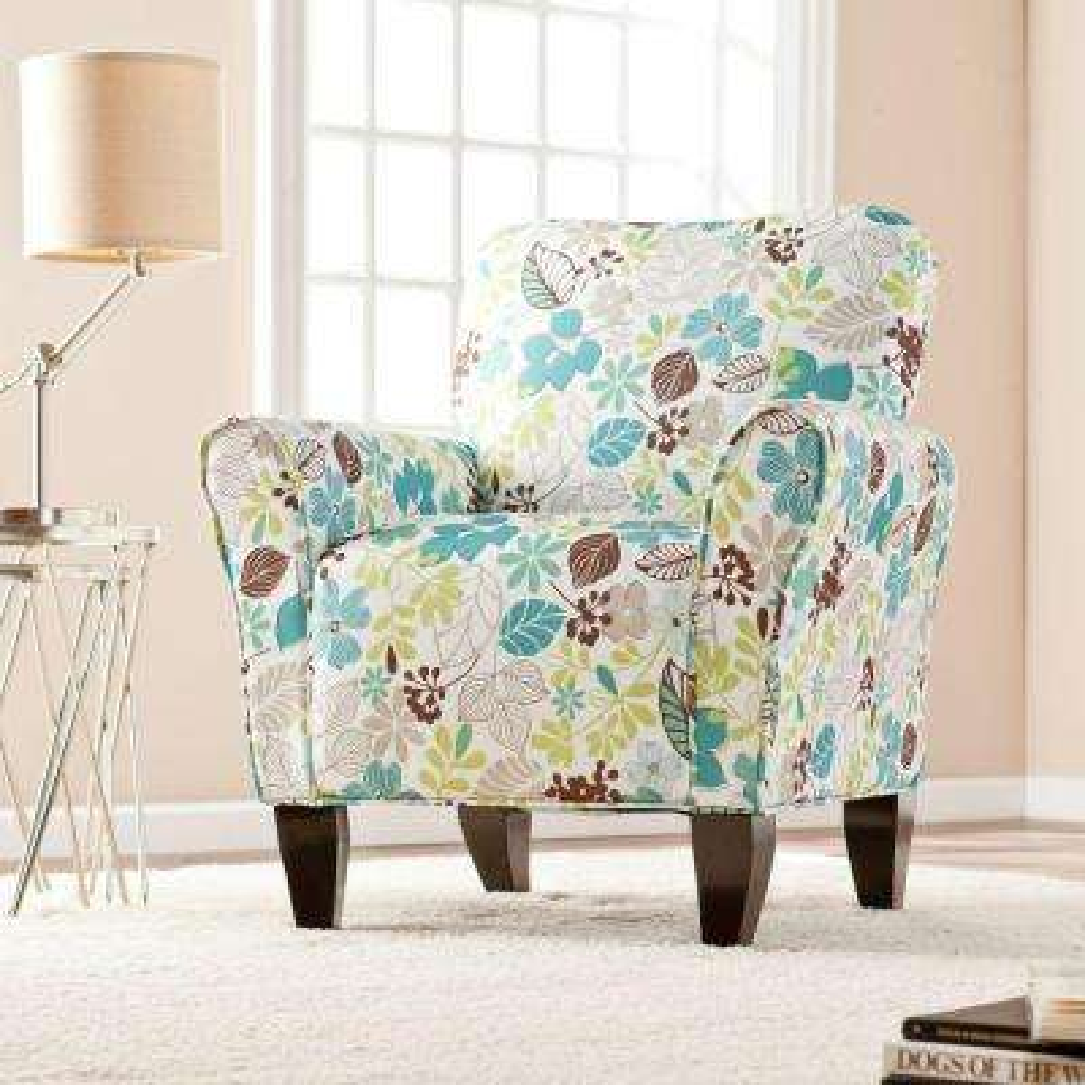 Jada Multi-Color Polyester Arm Chair
